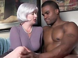 blond gag blowjob
