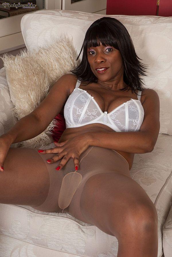 embarrassed nude female